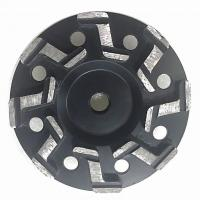 China 5 Inch 7 Inch S segment Aggressive Diamond Grinding Concrete Cup Wheels for concrete on sale