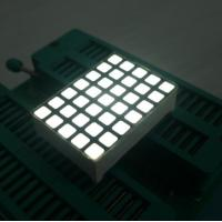 China White 5x7 Dot Matrix LED Display High Efficiency Programmable LED Display wholesale