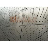 China Punched Aluminum Sheet / Aluminum Architectural Panels for Exterior Wall Facade wholesale