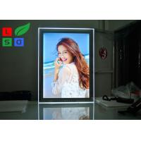 China LED Acrylic Magnetic Light Box A1 Format Size With Steel Bolts For Indoor Graphic Display wholesale