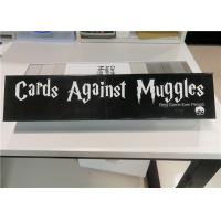 China Card games for adult cards against muggles Popular card games on sale