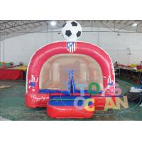China Inflatable Football Jumping Bounce Combo House For Inflatable Amusement Park wholesale