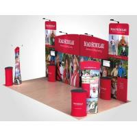 China Advertising trade show pop up banners , Wall tension fabric pop up display wholesale