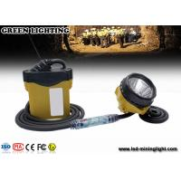 China 10.4Ah 3.7V Cree Mining Cap Lights , 348lum 25000lux light brightness wholesale