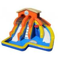 China giant outdoor kids inflatable summer pool water slide wholesale