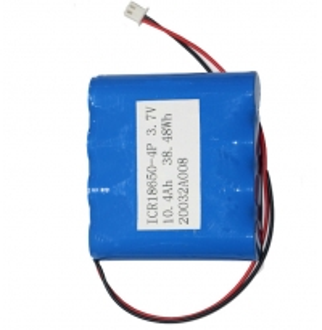 China 10.4Ah 18650 3.7 Volt Battery CC CV Shrinked PVC For Desktop Fan wholesale