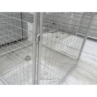 4mm Hot Dipped Galvanized Rubbish Cage Metal Garbage Cage
