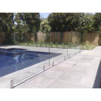 China 316 Anti-Rust Stainless Steel Spigots Frameless Swimming Pool Glass Railing wholesale