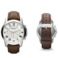 Buy cheap Wholesale Fossil Grant Chronograph Men's Leather Watch FS4735 from wholesalers