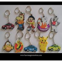 China Custom promotional silicone rubber keychain,cheap custom fashion souvenir keychain wholesale