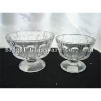 China cup of ice cream, ice cream bowl design, cheap glass bowl wholesale