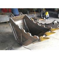 China Quick Hitch Hydraulic Excavator Bucket With Thumb Grapple Multi Functional wholesale
