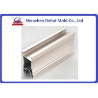 China Anodizing Aluminum Extrusion Profiles Architectural Decorative Snap Button Frame wholesale