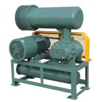 China High Pressure Roots Air Blower Three Lobe Double Tank RPM 700 - 2200 Speed wholesale