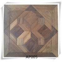 China Oak parquet flooring , UV lacquer,Brushed, smoked, 15/4*600*600mm wholesale