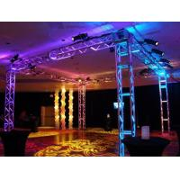 China 250*250 MM Screw  Trade  Aluminum Square Truss For Exhibition Booth wholesale