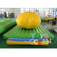 China Outdoor Dome Toys Sport Inflatable Floating Water Park Toys Component For Sea wholesale