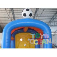 China Commercial Grade Inflatable Sport Game / Inflatable Football Shooting Attractive Games wholesale