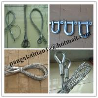 China Stainless steel cable snakes,Single head-single strand Pulling grip wholesale