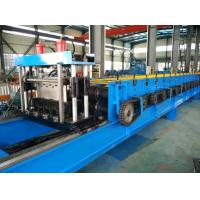 China Color Steel 30KW Floor Metal Deck Roll Forming Machine With Clinch System wholesale