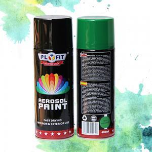 China Matt Thermoplastic LPG 450ML Acrylic Aerosol Spray Paint wholesale