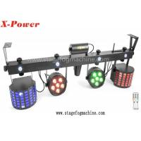 China Outdoor 120 Watt Led Par Can Lights Set with 5 / 20 Channel DMX Control wholesale