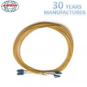 China 2 Meters Optical Fiber Patch Cord , Duplex Fiber Optic Patch Cable G652D wholesale