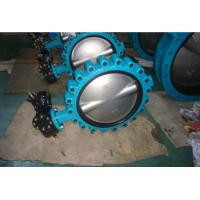 China Full Bore Butterfly Valve Ss304 , Cast Iron Butterfly Control Valve wholesale
