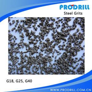China Grit blasting abrasive steel grit G18 G25 G40 wholesale