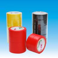 China Fixing / reinforcement PVC Insulation Tape , red / blue / green pipe wrap heat tape wholesale