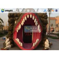 China 7D Cinema Movie Dinosaur Box , 7D Movie Theater With Specail Design wholesale