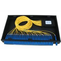 Buy cheap Rack Mounted Fiber Optical Terminal Box , 19 Inch PLC Splitter Box from wholesalers