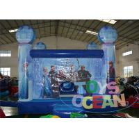 China Children Party Event Frozen Inflatable Jumper 0.55mm PVC Castle Combo wholesale