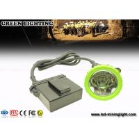 China Green IP67 1500mA 650Lum rechargeable GL6-B anti-explosive LED miners cap lamp with 11.2 Ah wholesale