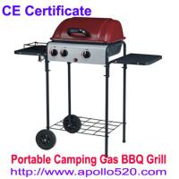 Buy cheap Portable 3 Burner Gas Barbeque from wholesalers