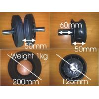 Buy cheap garabge container wheel for 200*50 from wholesalers