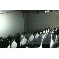 China Pneumatic 6D Cinema Equipment With Silence Air Compressor / Motion Chair wholesale
