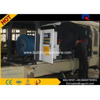 Quality Stationary Diesel Concrete Pump Trailer 6500Kg Weight For Construction Projects for sale