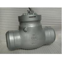 China CL 1500 API 594 Flanged Check Valve 2'' BW Pressure Self - Sealing Type wholesale
