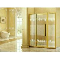 China Translucent Tempered Bathroom Glass Partition Walls 12mm Thickness wholesale