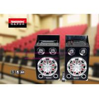 China Professional Portable Amplifier Speaker System Rechargeable Indoor wholesale