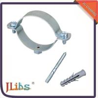 China High Performance Durable Large Pipe Clamps , Stand Off Pipe Clips Free Sample wholesale