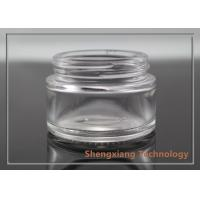 Quality Hot sale 30ml face cream glass jar with frost / painting surface treatment for sale
