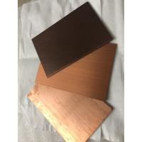 Quality Thermal Resistance Copper Composite Panel / Decorative Copper Panels For Cupboard for sale