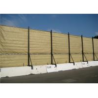 China Temporary Mobile Noise Barriers Light Duty Design Flexiable up to 40dB voice reduction wholesale
