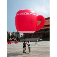 China customized giant advertising lighting inflatable cup balloon wholesale