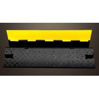 China Single Cable Protection Removable Speed Bumps, Recycled Rubber Speed Bumps For Driveway wholesale
