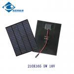 China Waterproof Monocrystalline Solar Panel For DIY 18V 5W PET Solar Panel Photovoltaic wholesale