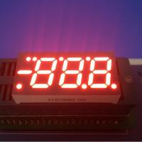 China 0.52 Inch 7 Segment Led Display 3 Digit , 7 Segment Blue Led Display For Air Conditioner Control wholesale