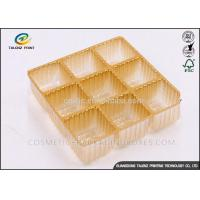 Quality Cookie Cakes Chocolate Fruit Egg  PVC PP PS ABS PET Blister Inner Tray Plastic Packaging Materials for food for sale